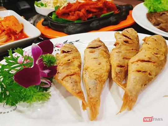Khám phá món ăn ở nhà hàng Triều Tiên tại Hà Nội - Ảnh 4.