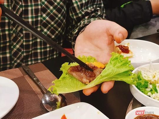 Khám phá món ăn ở nhà hàng Triều Tiên tại Hà Nội - Ảnh 8.