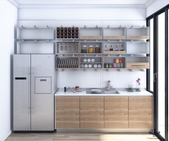 Tủ bếp hiện đại, độc đáo - Ảnh 3.