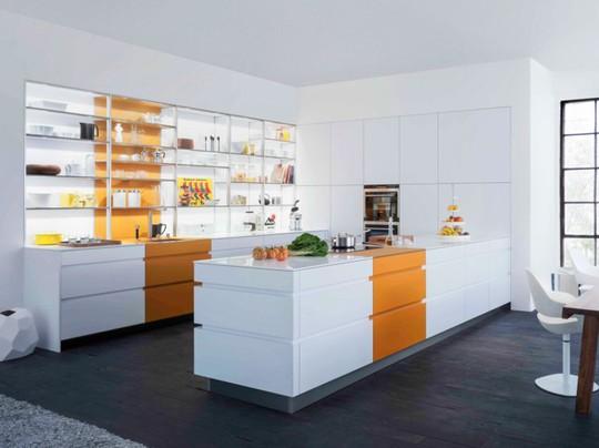 Tủ bếp hiện đại, độc đáo - Ảnh 4.