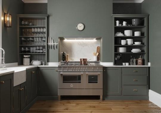 Tủ bếp hiện đại, độc đáo - Ảnh 6.