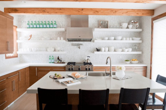Tủ bếp hiện đại, độc đáo - Ảnh 8.