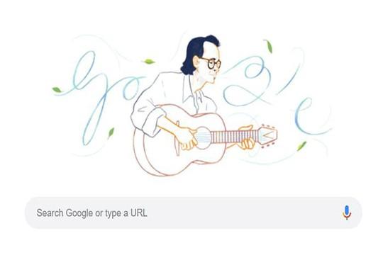 Google Doodles vinh danh nhạc sĩ Trịnh Công Sơn - Ảnh 2.