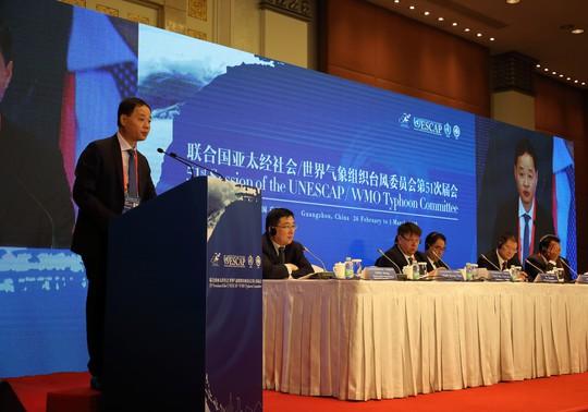 Việt Nam và Trung Quốc đẩy mạnh hợp tác dự báo bão, thiên tai - Ảnh 1.
