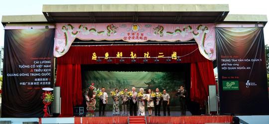 Giao lưu nghệ thuật Cải lương tuồng cổ Việt Nam và Triều kịch Quảng Đông Trung Quốc - Ảnh 2.