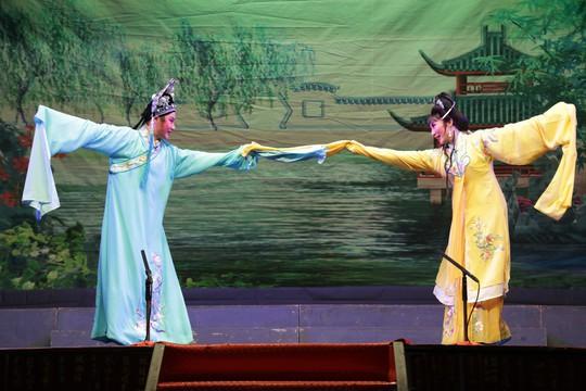 Giao lưu nghệ thuật Cải lương tuồng cổ Việt Nam và Triều kịch Quảng Đông Trung Quốc - Ảnh 4.