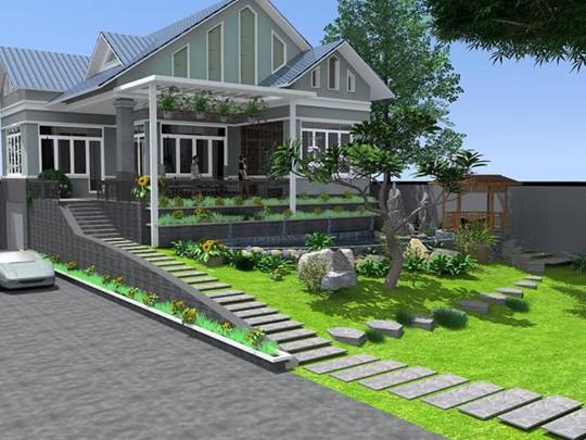10 mẫu biệt thự vườn mini đẹp mắt dưới 1 tỷ đồng - Ảnh 10.