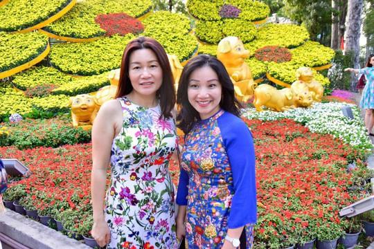 Nô nức trẩy Hội Hoa Xuân Tao Đàn - Ảnh 2.