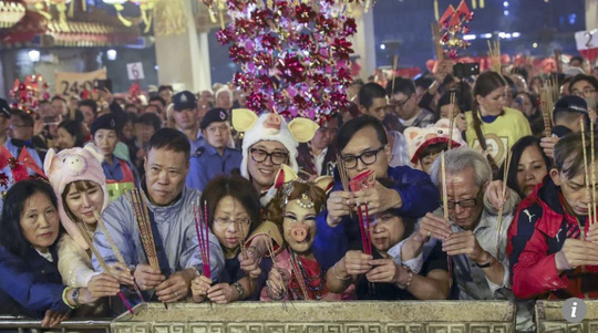 Châu Á chào đón năm mới - Ảnh 9.