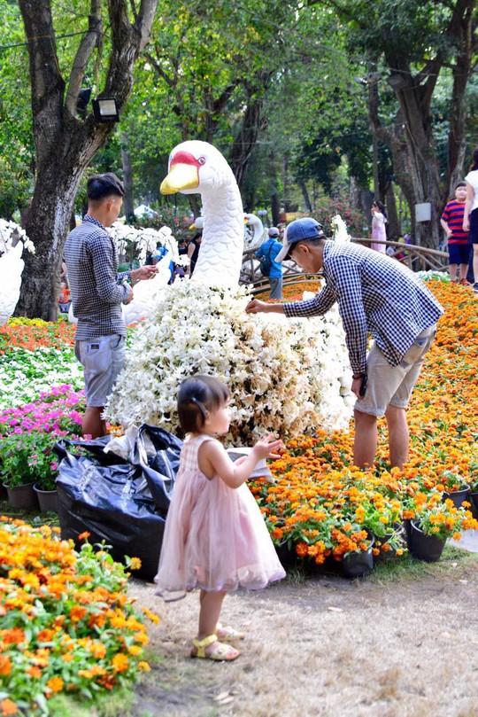 Du khách nước ngoài ca ngợi Hội Hoa Xuân Tao Đàn - Ảnh 11.