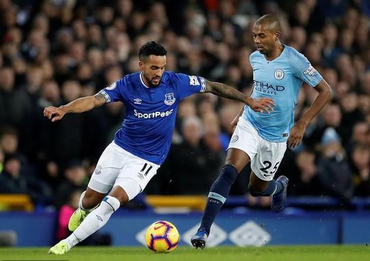 Vùi dập Everton, Man City tái chiếm ngôi đầu Ngoại hạng Anh - Ảnh 3.