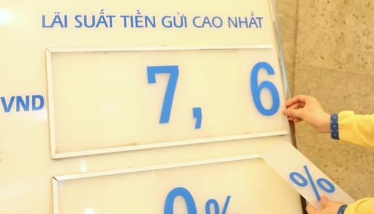 Ngân hàng lớn rục rịch giảm lãi suất huy động VND - Ảnh 1.