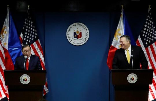 Mỹ cam kết bảo vệ Philippines ở biển Đông - Ảnh 2.