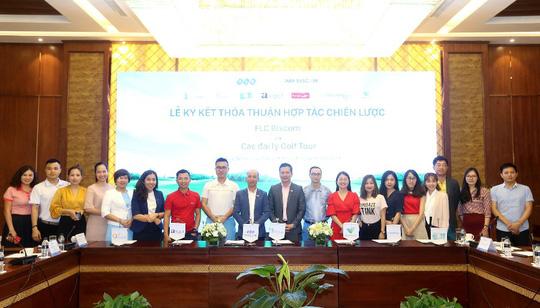 Cú bắt tay của FLC Biscom với 10 đại lý golf tour lớn nhất Việt Nam - Ảnh 1.