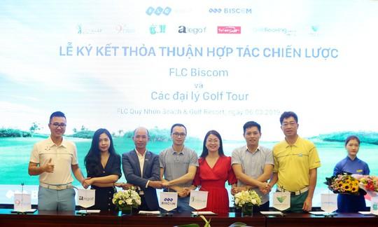 Cú bắt tay của FLC Biscom với 10 đại lý golf tour lớn nhất Việt Nam - Ảnh 2.