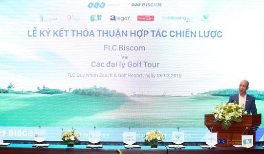 Cú bắt tay của FLC Biscom với 10 đại lý golf tour lớn nhất Việt Nam - Ảnh 3.