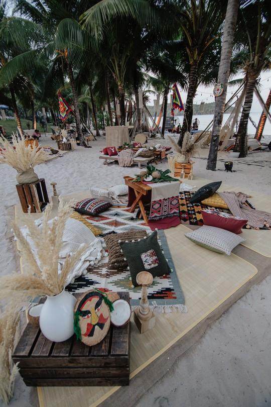 Đêm tiệc cưới phong cách thổ dân của tỉ phú Ấn Độ - Ảnh 3.