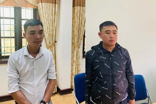 2 cán bộ ban giải phóng mặt bằng TP Thanh Hóa bị khởi tố - Ảnh 1.