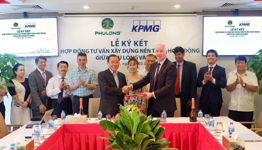 KPMG là đơn vị tư vấn nền tảng hoạt động cho Công ty Phú Long - Ảnh 2.