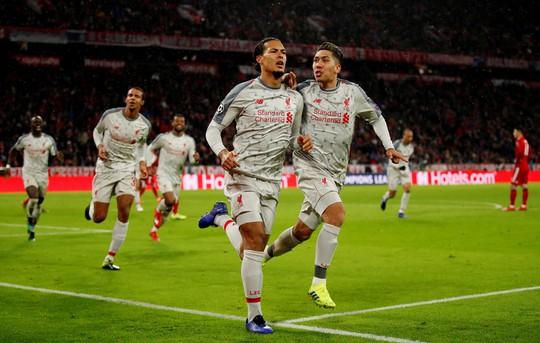 Bayern thua tan tác, Liverpool mơ vinh quang - Ảnh 1.