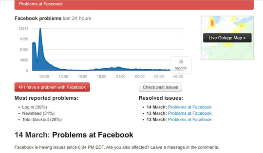 Facebook công bố nguyên nhân sự cố sập mạng - Ảnh 1.