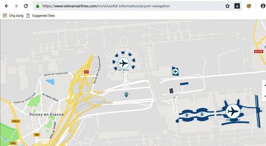Truy cập 67 bản đồ sân bay trên điện thoại di động - Ảnh 1.