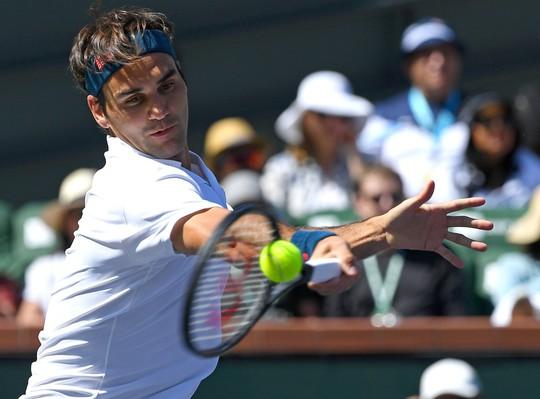 Federer chạm trán Nadal ở bán kết Indian Wells Masters - Ảnh 4.
