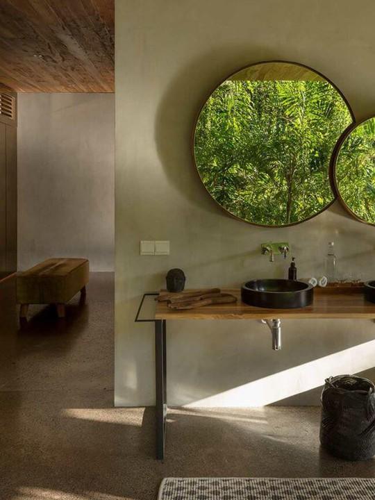 Căn nhà giữa rừng rậm vừa đẹp vừa tiện nghi - Ảnh 9.