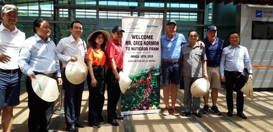 Huyền thoại golf Greg Norman: Tôi rất ấn tượng với nông trường cà phê NUTI CADA