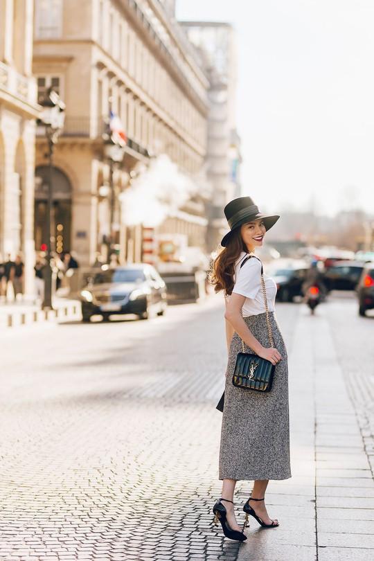 Hồ Ngọc Hà gợi cảm giữa Paris fashion week - Ảnh 4.