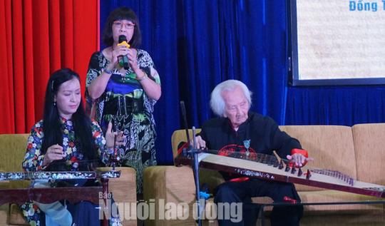 Nhạc sư Nguyễn Vĩnh Bảo xứng đáng với danh hiệu Nghệ nhân Nhân dân - Ảnh 2.