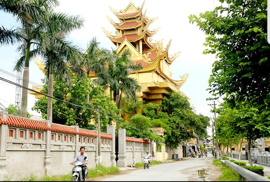 Choáng ngợp làng 100 tỉ phú ở quê lúa Thái Bình - Ảnh 2.