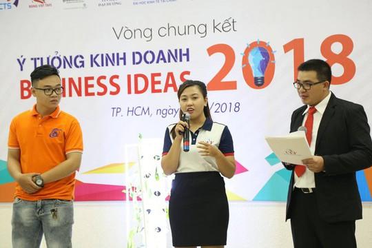 Khởi động cuộc thi ý tưởng kinh doanh - Ảnh 1.