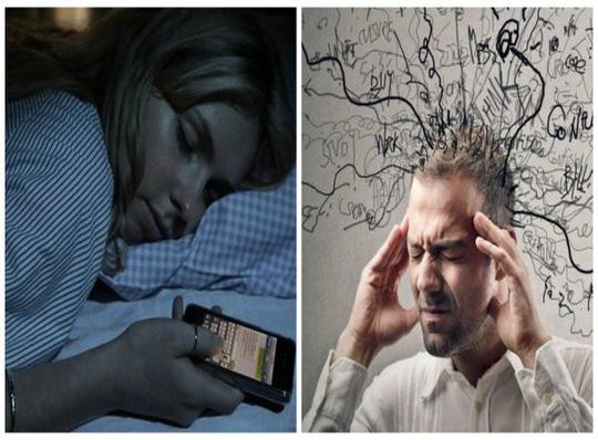 Ngừng ngay việc dùng điện thoại trước khi đi ngủ - Ảnh 1.