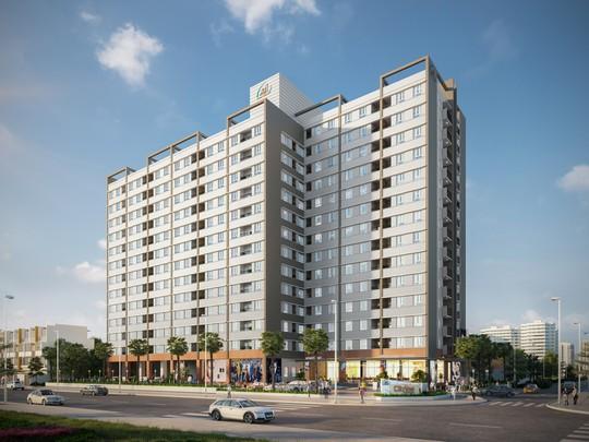 Dự án Citrine Apartment cất nóc vượt tiến độ - Ảnh 1.