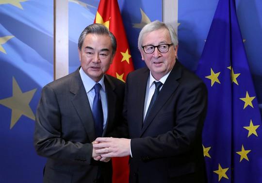 EU cứng rắn hơn với Trung Quốc - Ảnh 1.