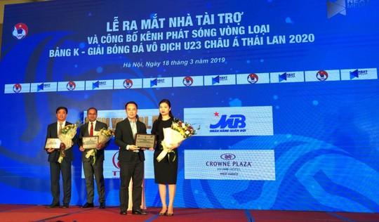 MB tài trợ các trận đấu Vòng loại Giải bóng đá vô địch U23 châu Á 2020 - Ảnh 1.