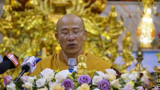 Trụ trì chùa Ba Vàng đã nói gì khi làm việc với cơ quan chức năng? - Ảnh 1.