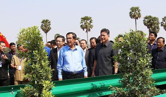 Thủ tÆ°á»ng Hun Sen: Không Äá» Trung Quá»c kiá»m soát Campuchia - Ảnh 1.