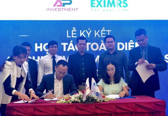 Bất động sản An Phú ký hợp tác toàn diện với Eximrs - Ảnh 1.