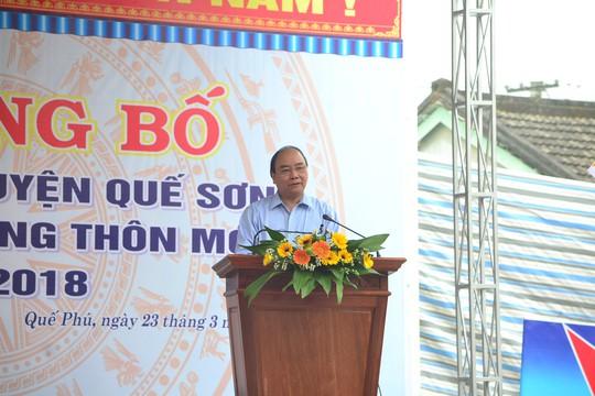 Quê hương Thủ tướng Nguyễn Xuân Phúc đạt chuẩn nông thôn mới - Ảnh 1.