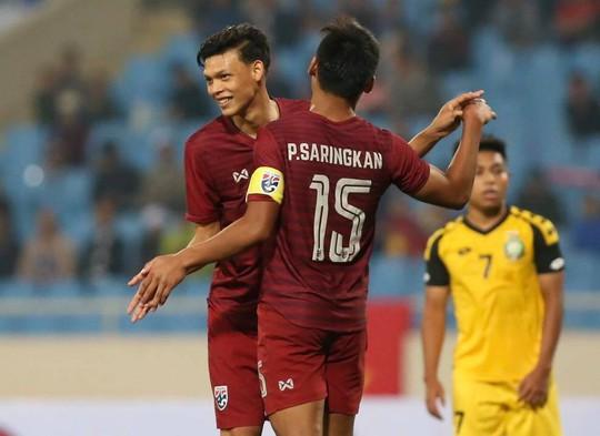 Đồng đội Xuân Trường ghi hat-trick, U23 Thái Lan thắng đậm Brunei - Ảnh 1.