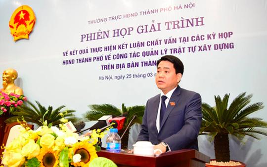 Chủ tịch Hà Nội: Xem xét chuyển 10 dự án, công trình sai phạm sang cơ quan điều tra - Ảnh 1.