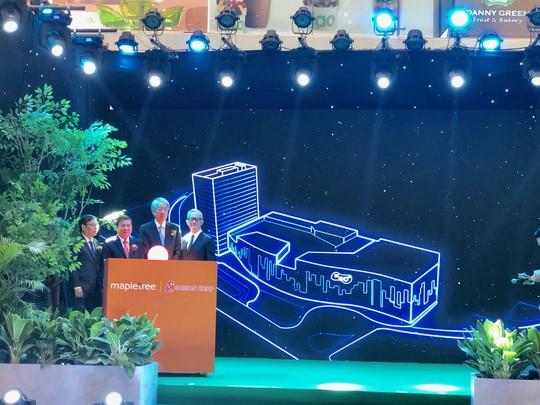 Chủ tịch UBND TP HCM và Phó Thủ tướng Singapore khánh thành tòa nhà 30 tầng