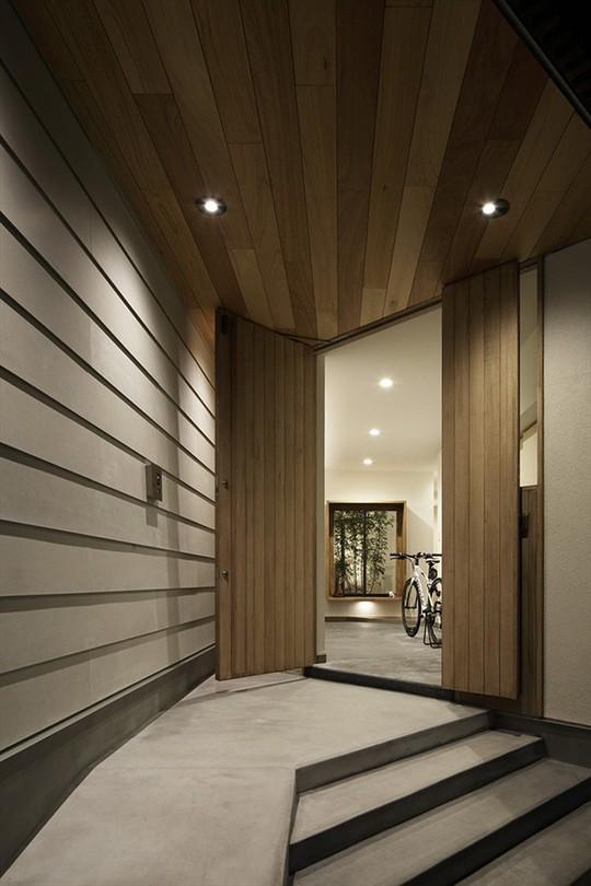 Xoay 45 độ tránh nắng, căn nhà kiểu Nhật được khen hết lời - Ảnh 3.