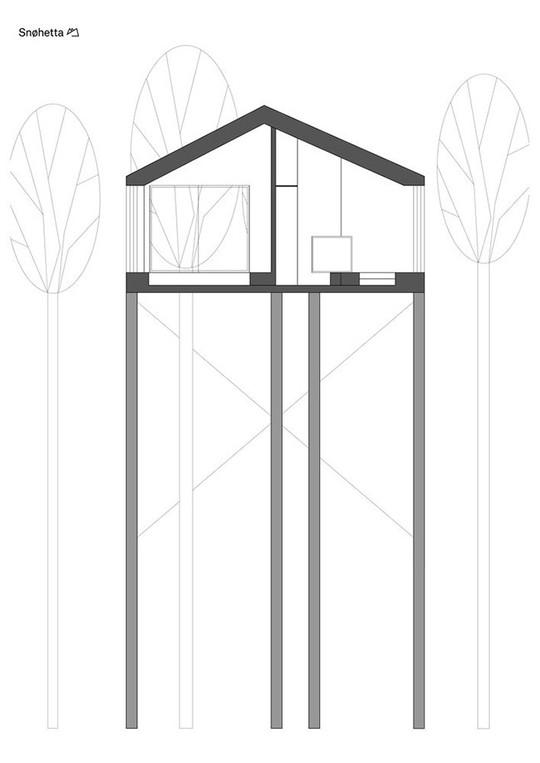 Báo Tây trầm trồ với căn nhà kính treo lơ lửng giữa rừng cây - Ảnh 20.