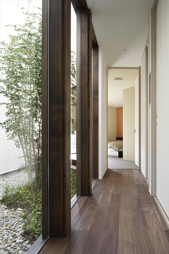 Xoay 45 độ tránh nắng, căn nhà kiểu Nhật được khen hết lời - Ảnh 7.