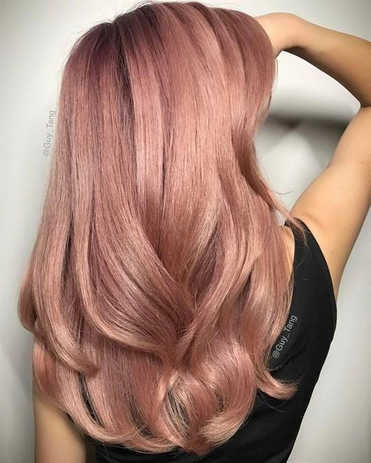 10 xu hướng màu tóc nhuộm cho năm 2019 - Ảnh 8.