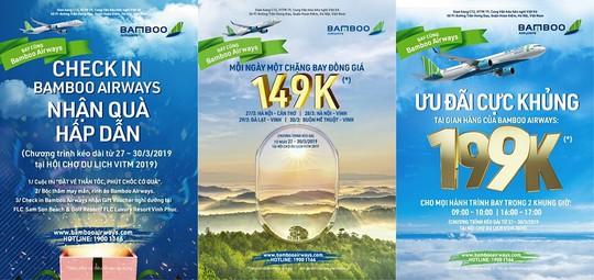 Cơ hội mua hàng ngàn vé với giá từ 149.000 VND của Bamboo Airways - Ảnh 1.