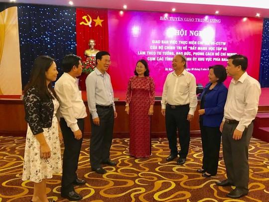 Ban Tuyên giáo Trung ương họp với các Tỉnh ủy, Thành ủy phía Nam - Ảnh 1.
